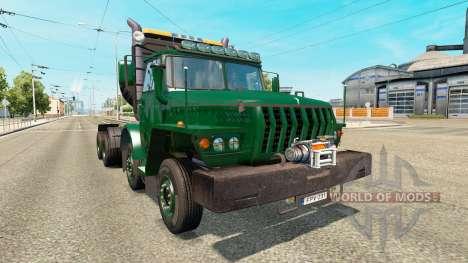 Урал-43202 для Euro Truck Simulator 2