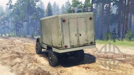 ГАЗ-63М для Spin Tires