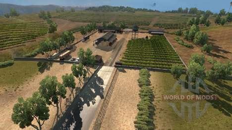 Новые города в Калифорнии и Неваде для American Truck Simulator