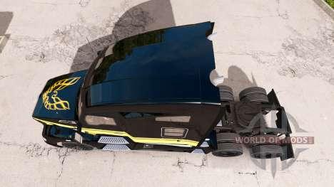 Скин Smokey and The Bandit на тягач Kenworth для American Truck Simulator