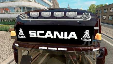 Лайтбар Scania для Euro Truck Simulator 2