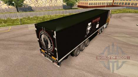 Скин Top Secret StandAlone на полуприцеп для Euro Truck Simulator 2