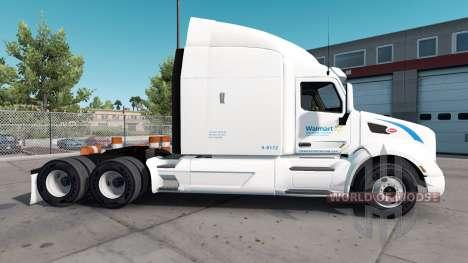 Скин Wallmart на тягач Peterbilt для American Truck Simulator