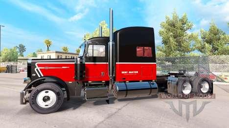 Скин Bert Matter Inc. на тягач Peterbilt 389 для American Truck Simulator