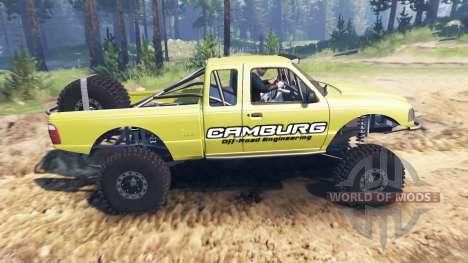 Ford Ranger Pre-Runner [03.03.16] для Spin Tires