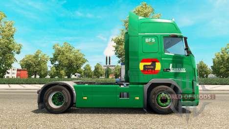 Скин Lehmann на тягач Volvo для Euro Truck Simulator 2