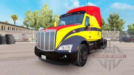Скин Santa Fe на тягач Peterbilt для American Truck Simulator