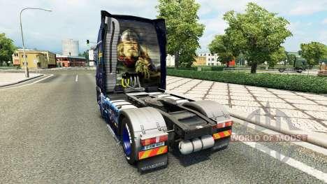 Скин Wiking Transport на тягач Volvo для Euro Truck Simulator 2