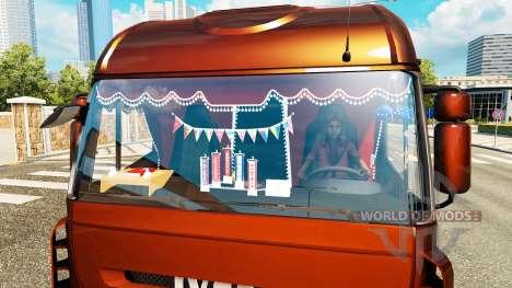 Новый интерьер у тягачей Iveco для Euro Truck Simulator 2