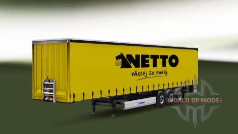 Сборник скинов на полуприцепы для Euro Truck Simulator 2