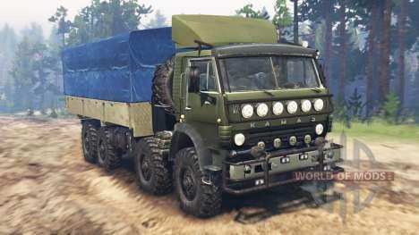 КамАЗ-6350 Мустанг v3.0 для Spin Tires