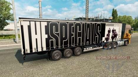 Скин The Specials на полуприцеп для Euro Truck Simulator 2