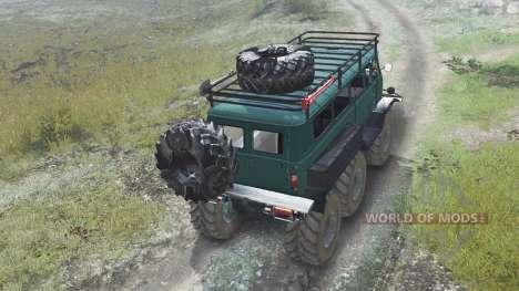 УАЗ-3309 6x6 [03.03.16] для Spin Tires