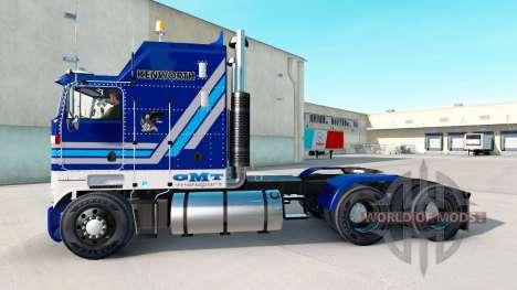 Скин California Wine на тягач Kenworth K100 для American Truck Simulator