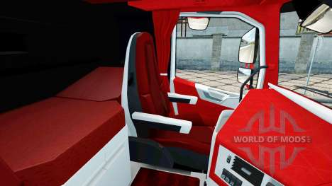 Скин Coca-Cola на тягач Volvo для Euro Truck Simulator 2