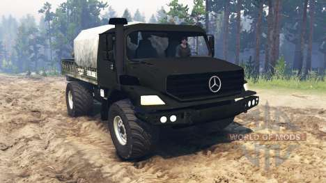 Mercedes-Benz Zetros 2733 [update] для Spin Tires