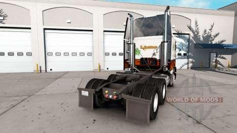 Скин Wood Shop на тягач Freightliner FLB для American Truck Simulator