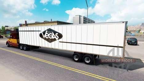 Скин Las Vegas на полуприцеп для American Truck Simulator