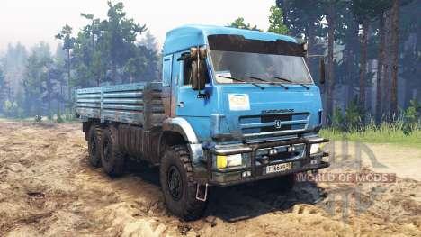 КамАЗ-43118 [03.03.16] для Spin Tires
