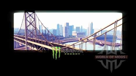 Monster Energy в загрузочных экранах для American Truck Simulator