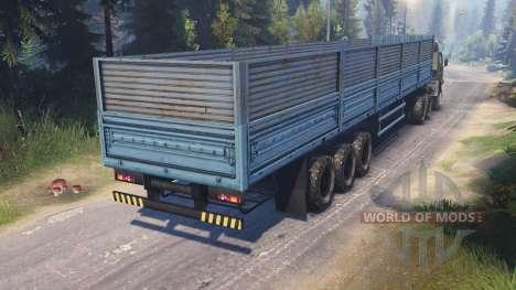 КамАЗ-4310 [twin turbo] для Spin Tires