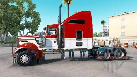 Скин Army на тягач Kenworth W900 для American Truck Simulator