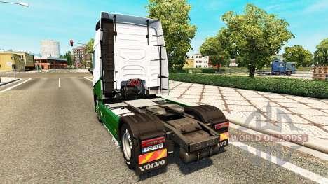 Скин Marti на тягач Volvo для Euro Truck Simulator 2