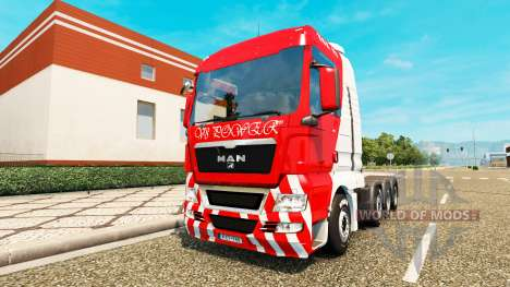 MAN TGX 8x4 для Euro Truck Simulator 2