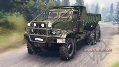 ЯАЗ-214 для Spin Tires