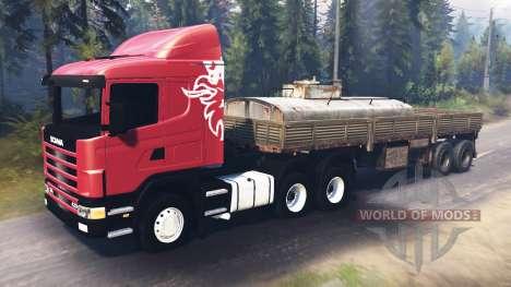 Scania R420 [03.03.16] для Spin Tires