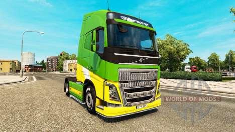 Скин eAcres на тягач Volvo для Euro Truck Simulator 2