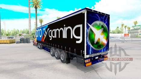 Скин MSI на полуприцеп для American Truck Simulator