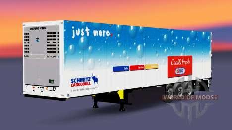 Полуприцеп Schmitz Cargobull для Euro Truck Simulator 2