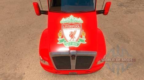 Liverpool Kenworth T680 Skin для American Truck Simulator