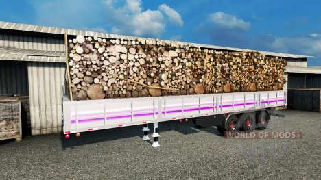 Бортовой полуприцеп для Euro Truck Simulator 2