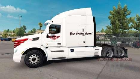 Скин Keystone Western на тягач Peterbilt для American Truck Simulator