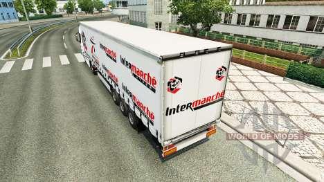 Скин Intermarket на тягач Iveco для Euro Truck Simulator 2