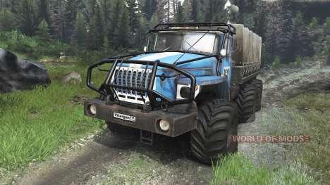 Урал-4320-10 [03.03.16] для Spin Tires