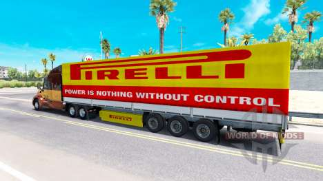 Скин Pirelli на полуприцеп для American Truck Simulator