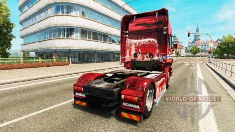Скин Norway на тягач Scania для Euro Truck Simulator 2