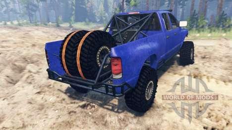 Dodge Ram Pre-Runner [03.03.16] для Spin Tires