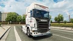 Скин Intermarket на тягач Scania