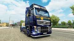 Скин Wiking Transport на тягач Volvo