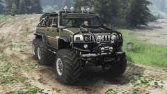 Hummer H2 6x6 [diesel][03.03.16]