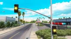 Продолжительные жёлтые огни светофора