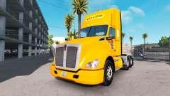 Скин Yellow Corp. на тягач Kenworth