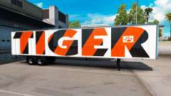 Скин Tiger на полуприцеп