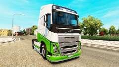 Скин eAcres v1.1 на тягач Volvo