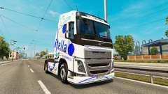 Скин Itella на тягач Volvo