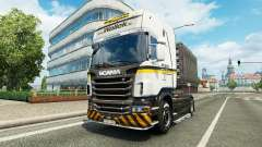 Скин Wallek на тягач Scania